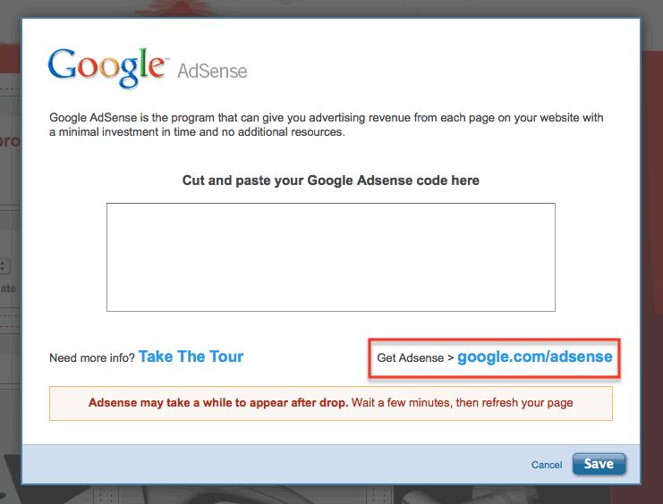 Get AdSense