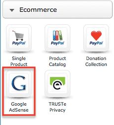 Google AdSense Widget