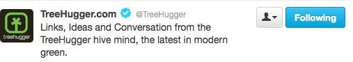 TreeHuggerTwitter