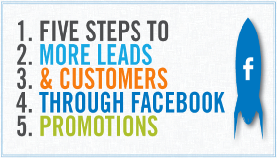 More leads and customers through facebook