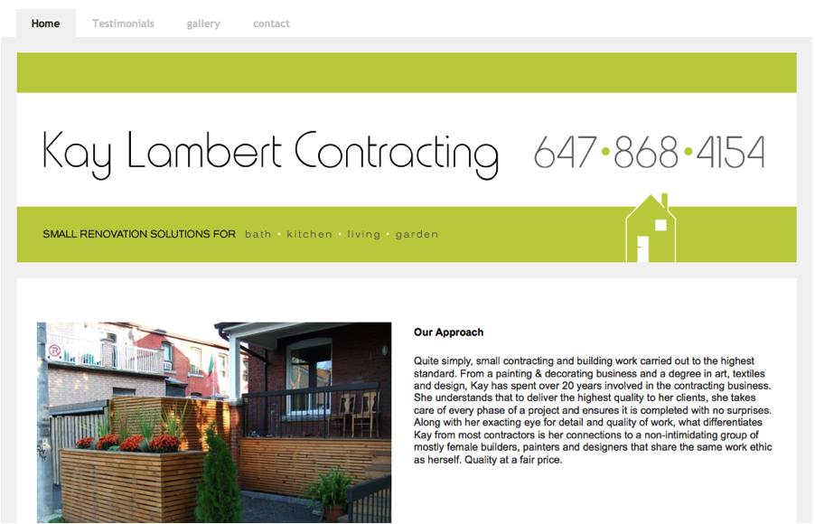 Contractors - Homepage