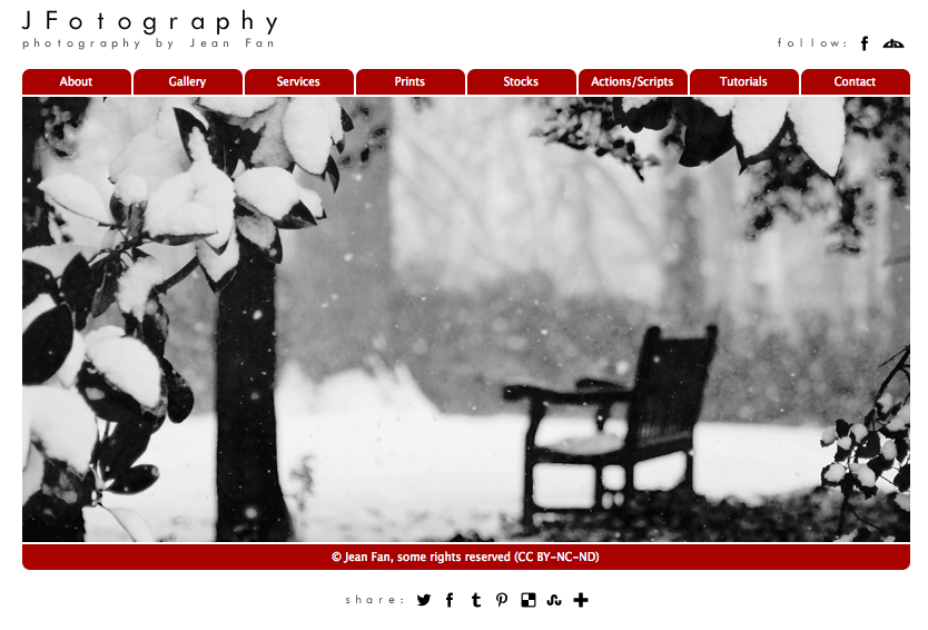 JFotography Homepage