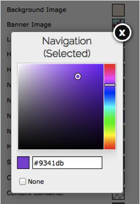Build your website - Color Codes