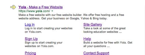 Site publishing - Site title
