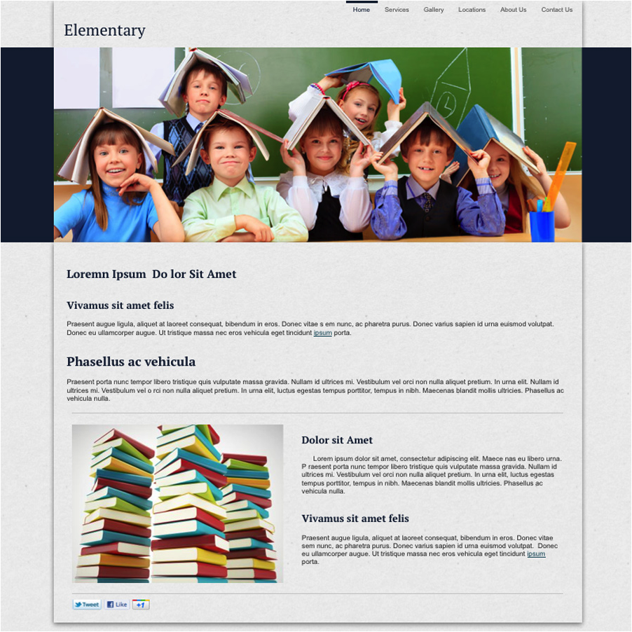 Elemenetary School Website