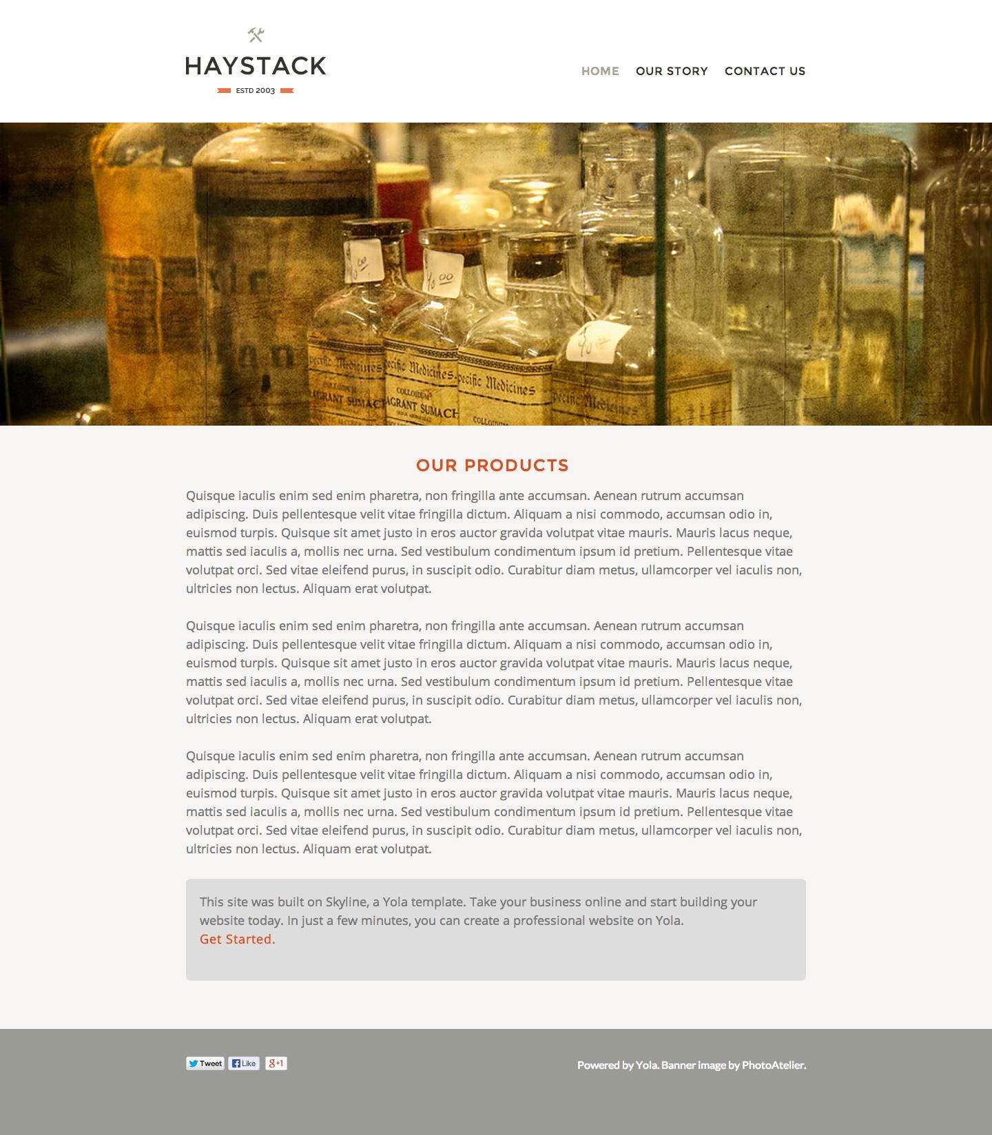Haystack Website