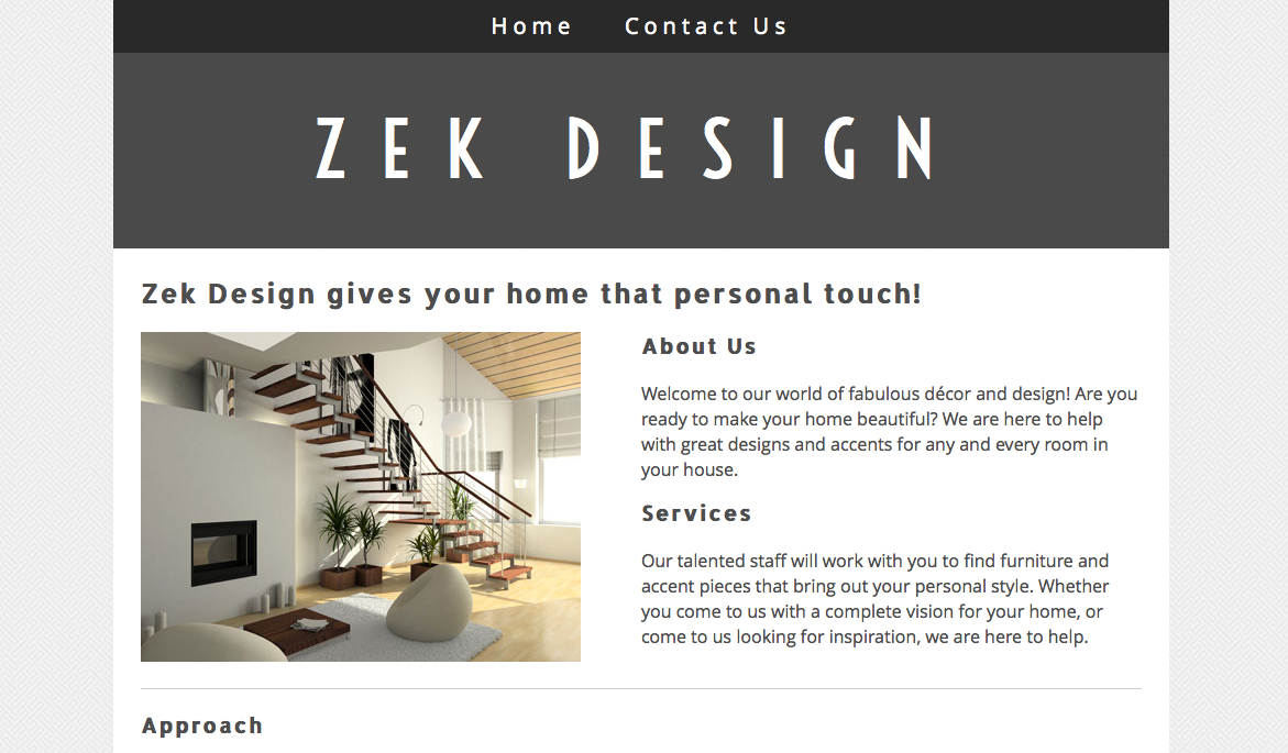 Zek Design Website unedited