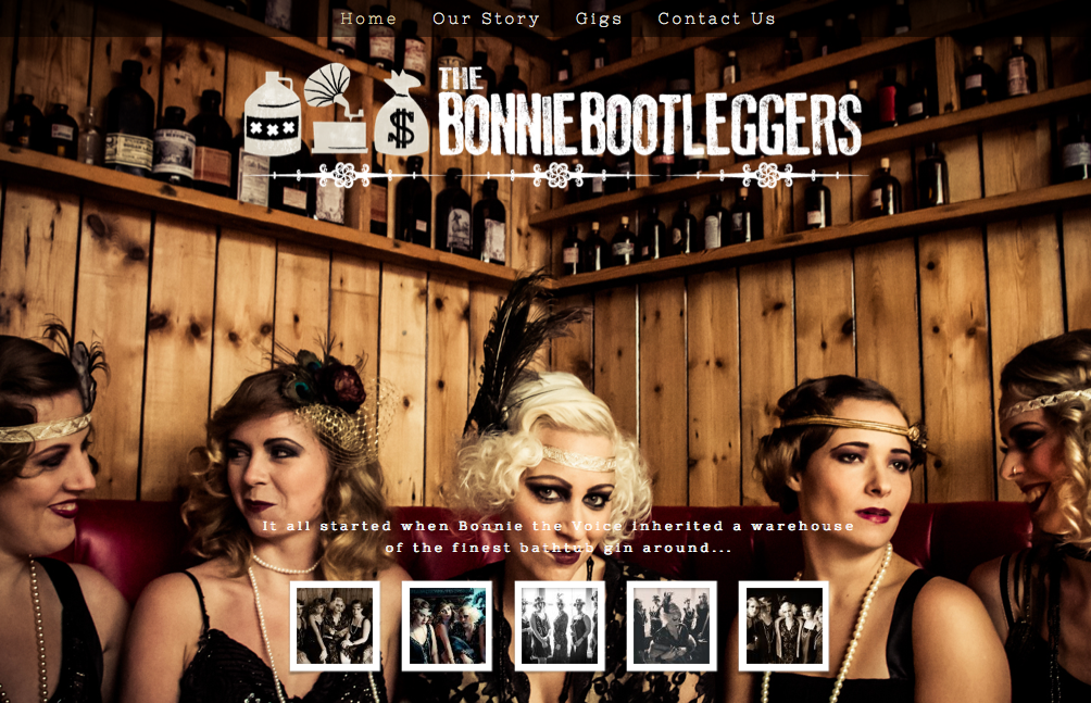 Bonnie bootleggers website