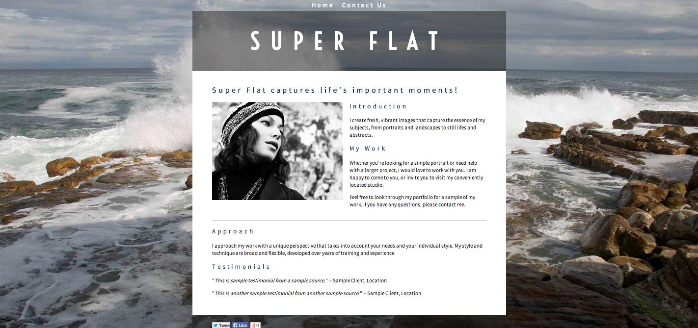Super Flat Mellow