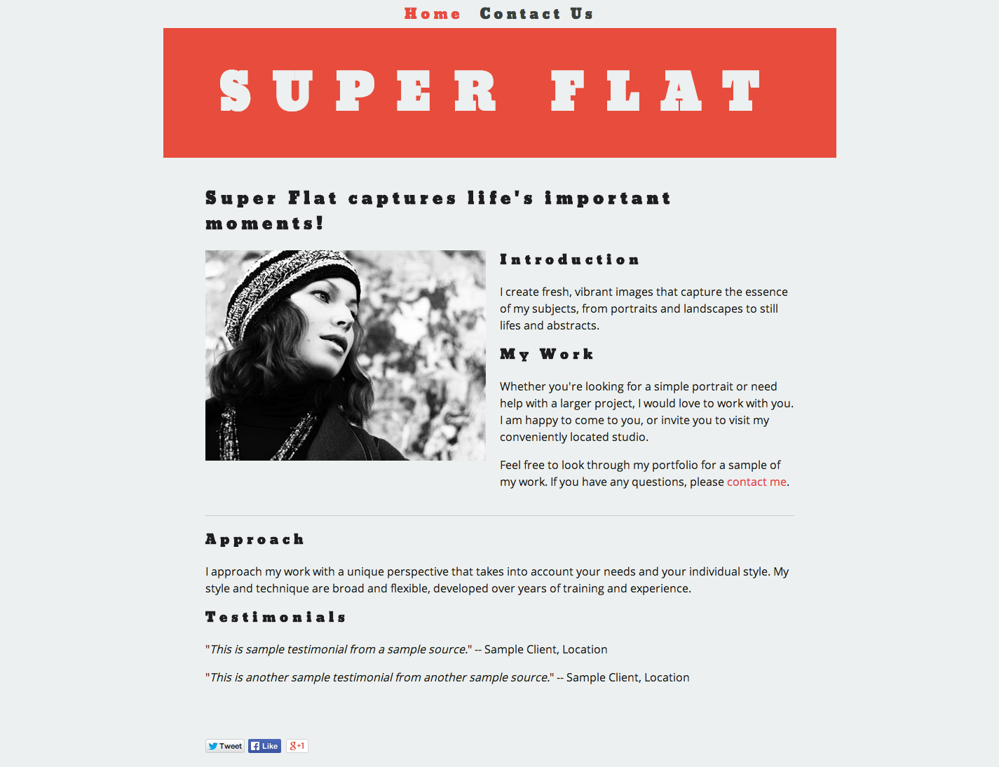 Super Flat Bold