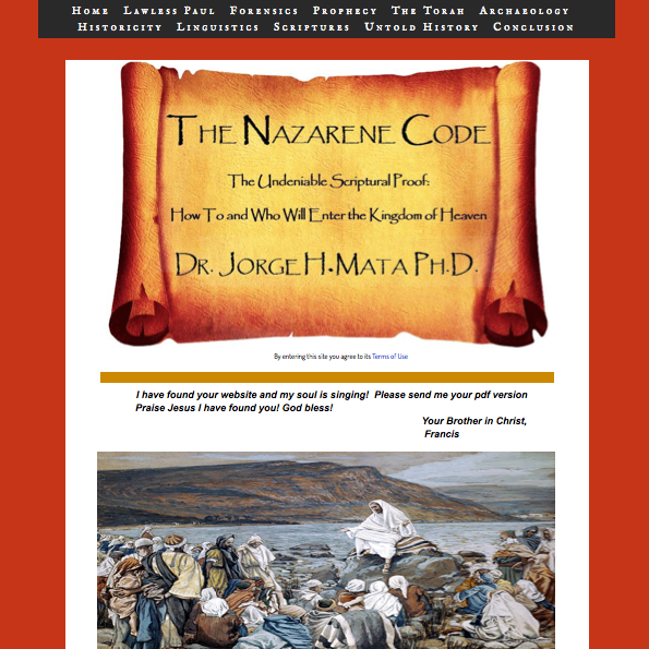 The Nazarene Code