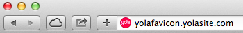 Adding a favicon on Yola