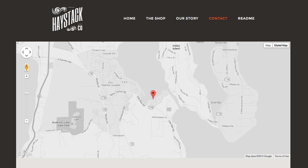Add a Styled Map to your Yola Website