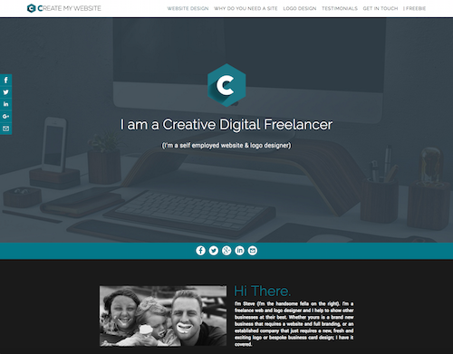 Create My Site by Steve Small